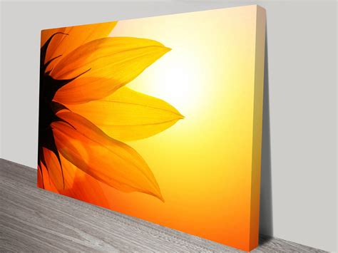 printable art canvas flower of the sun canvas art print canvas prints australia