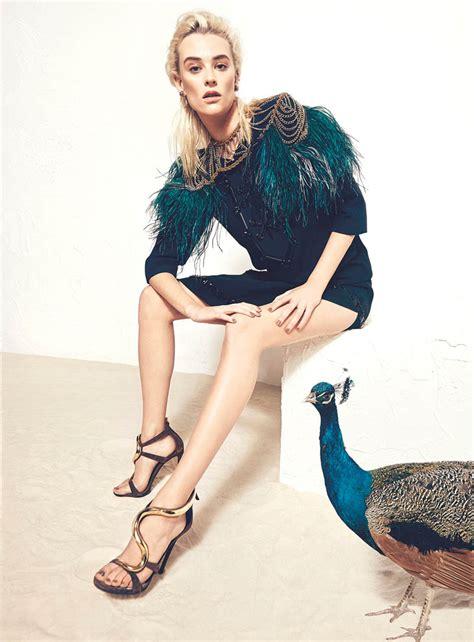 Gets All Fashionista In Marchs Harpers Bazaar by Milou Grosen на страницах S Bazaar Ukraine