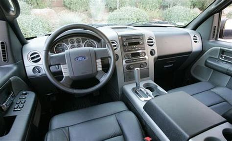 Ford F150 Interior by Car And Driver
