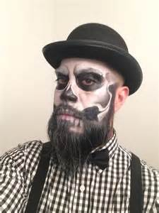 halloween makeup for guys skeleton makeup on beard google search halloween