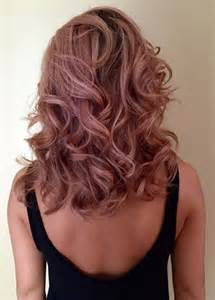 stunning rose gold hair ideas