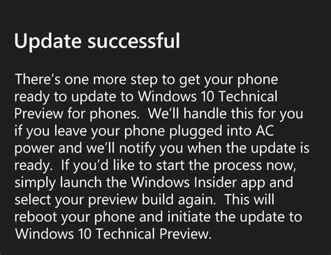 install windows 10 phone how to install windows 10 on your phone techical preview