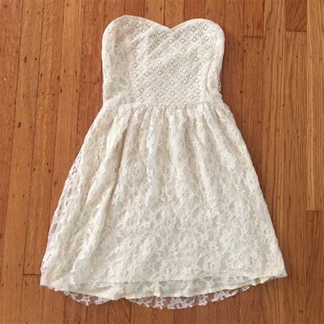 Lace Dress Hollister hollister lace strapless dress poshmark