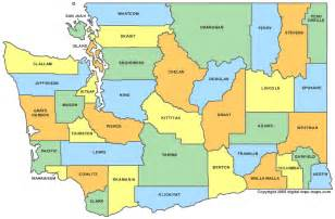 maps counties washington county map wa counties map of washington