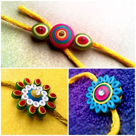 How To Make Rakhi With Paper - the 25 best rakhi ideas on