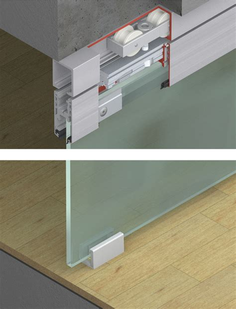 Set Hawa set components for interior doors fitting set hawa
