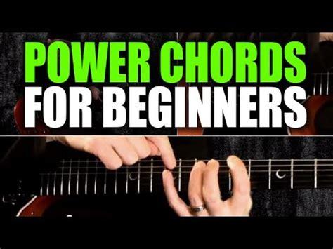guitar tutorial for beginners youtube beginner s guitar lesson on power chords youtube