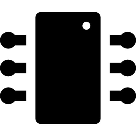 integrated circuit icon png integrated circuit free technology icons