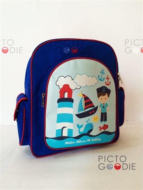 Tas Ultah Anak Goodie Bag Souvenir Ransel Sablon tas ransel 4 ruang b souvenir ultah anak pictogoodie surabaya jakarta