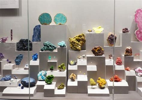 a rainbow of mineral sles at the smithsonian