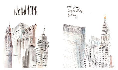 New Illustrations by New York City Trip Eldridge Illustration