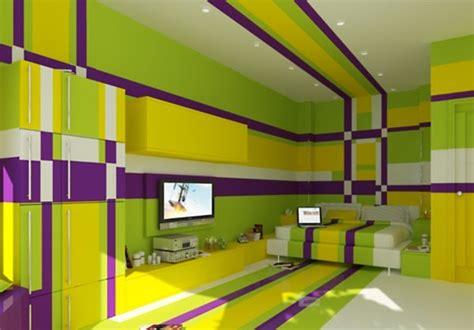 desain kamar mandi warna cerah contoh kamar dengan warna cat yang cerah desain kamar modern