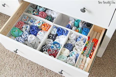 dresser organization ideas nursery dresser organization two twenty one