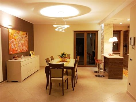 illuminazione sala pranzo dining room lighting with artemide ls table and wall