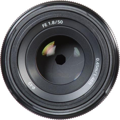 Sony Lens Sel Fe 50mm F1 8 sony fe 50mm f 1 8 lens sel50f18f ebay