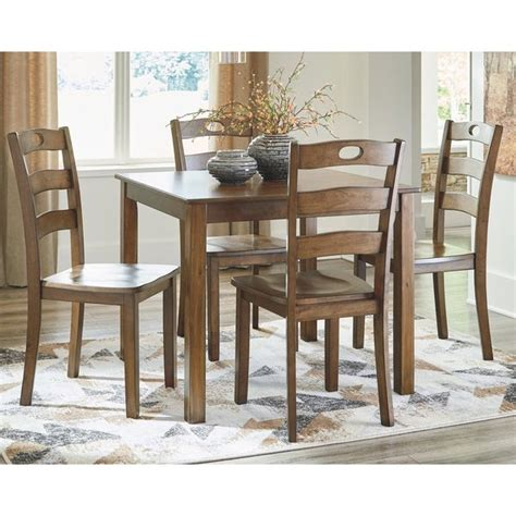 shop hazelteen square dining room set table   chairs