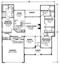 Handicap Accessible Floor Plans Country Ranch Wheelchair Accessible House Plans Home