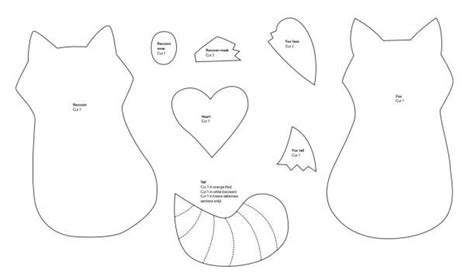 printable raccoon mask template mollie makes fox and raccoon template feelin crafty
