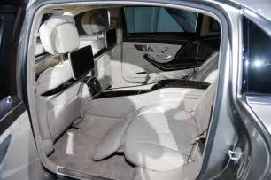Mercedes S600 Interior 2016 Mercedes Maybach S600 Interior View Photo 23