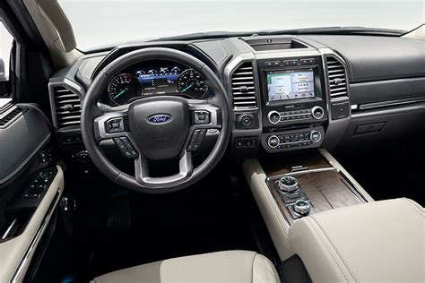 Suv Interior by Ford Unveils Redesigned 2018 Expedition Suv Trucks