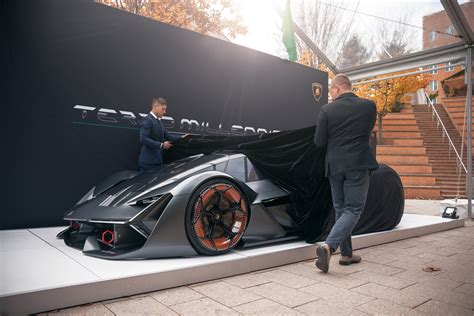 Lamborghini Terzo by The Lamborghini Terzo Millennio Is An Electric Supercar