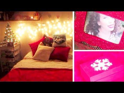 como decorar tu cuarto navidad decora tu cuarto para navidad 3 diy youtube