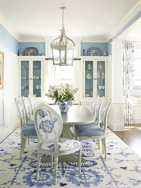 blue and white dining room blue dining rooms 18 exquisite inspirations design tips
