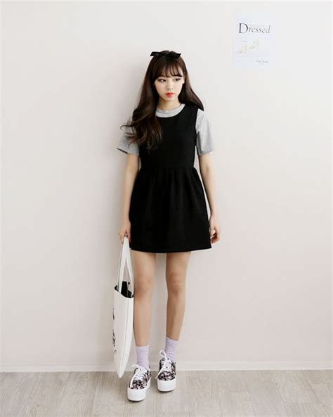 Korean Black Style 465 best images about asian fashion style on