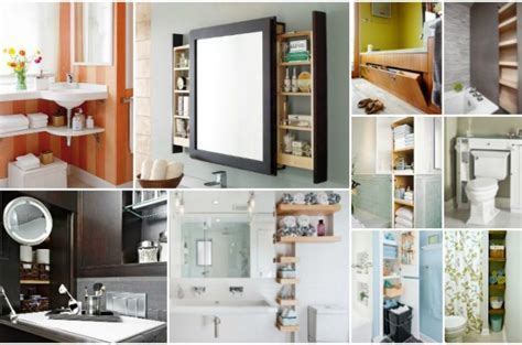 Big Space Saving Ideas That Will Make Your Tiny Bathroom Bathroom Space Saving Ideas