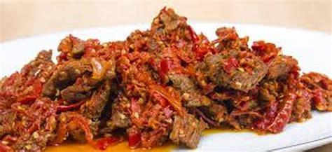 Lidah Sapi Balado 500 Gram resep sambal goreng daging balado aneka resep masakan