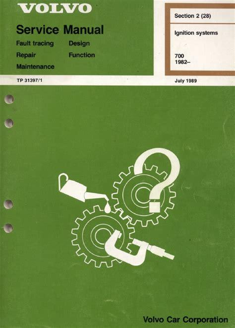 free online auto service manuals 1992 volvo 240 instrument cluster volvo 940 service repair manual