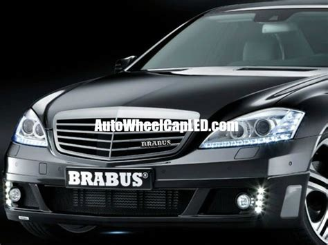 Emblem Brabus Mercedes Metal Grill 2 mercedes brabus metal chrome silver front grille badges emblems alloy autowheelcapled