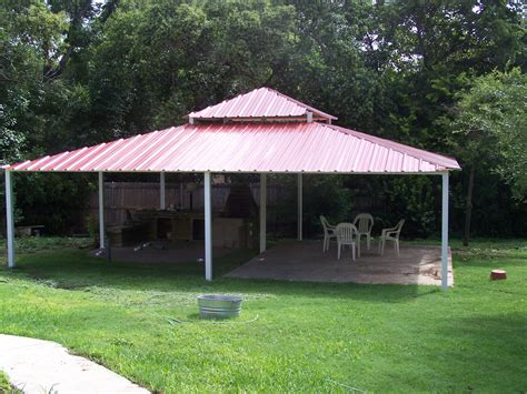 Backyard Pavillion by Backyard All Steel Custom Pavilion West San Antonio