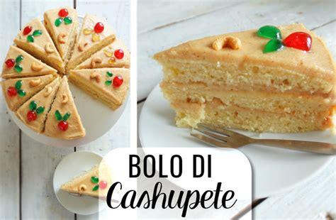 di bolo bolo di cashupete antilliaanse cashewnotentaart het