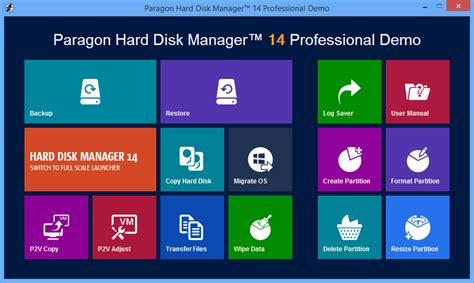 paragon hard disk manager full version download paragon hard disk manager 14 professional 64 bit free