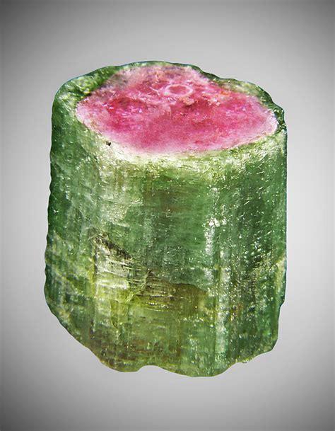 log watermelon tourmaline