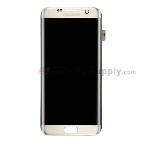 Lcd Samsung Galaxi S7 Edge samsung galaxy s7 edge g935 g935f g935a g935v lcd assembly gold etrade supply
