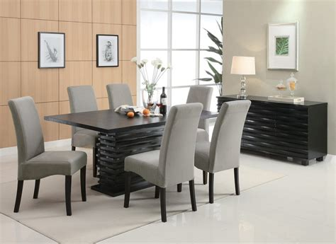 Modern Dining Sets by Dreamfurniture Com 102061 Stanton Contemporary Dining