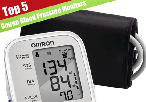 best blood pressure monitor 5 best omron blood pressure monitors for 2017 jerusalem post