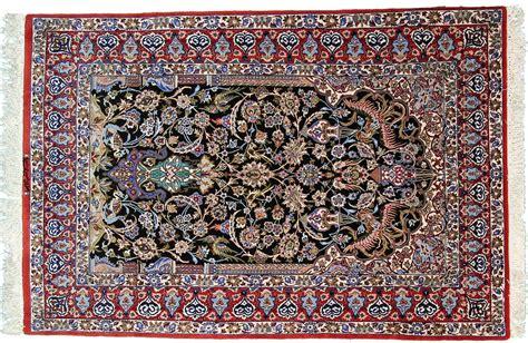 tappeti persiani isfahan isfahan ordito in seta tappeto 167x113 id1448 acquista