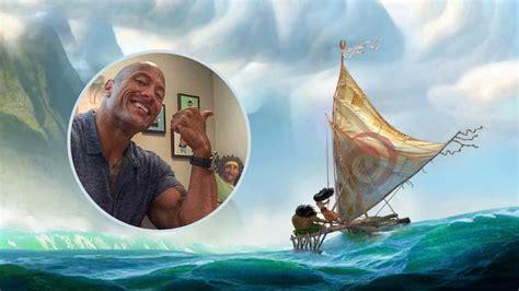 film moana bande annonce moana dwayne johnson chantera dans le film d animation