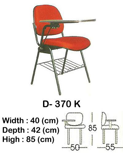 Daftar Kursi Kuliah Futura kursi kuliah indachi type d 370 k jual daftar harga furniture kantor di jakarta