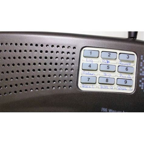 home and office 9 channel digital fm wireless intercom