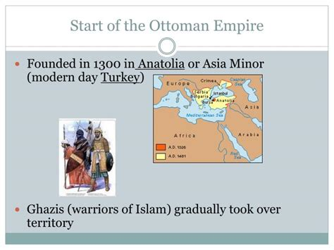 ottoman empire start ppt empires in 1500 ottoman mughal china japan