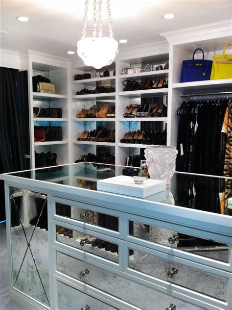 Kardashians Closet by A Grand Tour Multimillion Dollar Spaces From Hgtv S