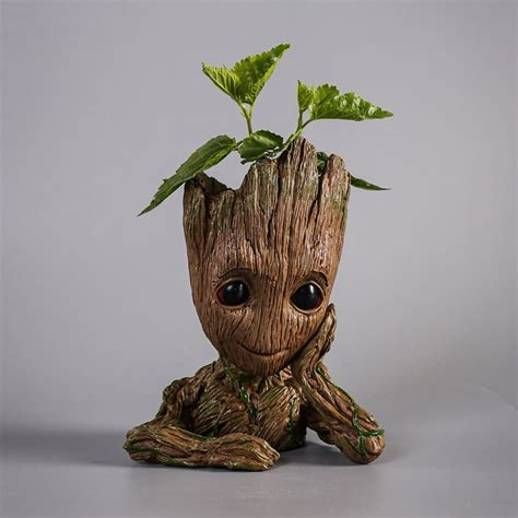 Baby Planter by Organize Your Desk With This Baby Groot Planter