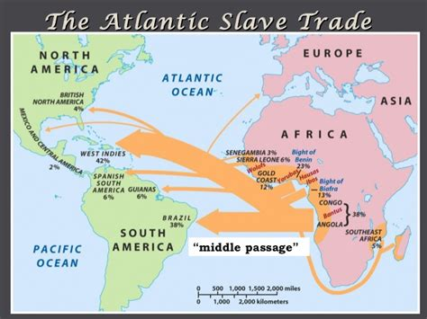 south america map passage middle passage images