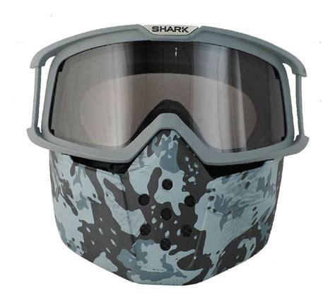 Masker Goggle shark mask goggles revzilla