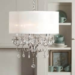 drum chandelier shades tribecca home silver mist hanging drum shade
