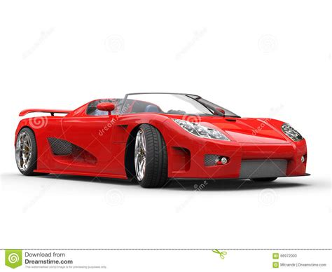 car white background bright sports car on white background stock image